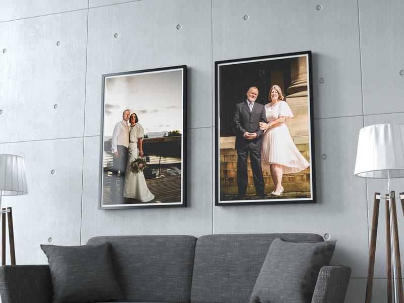 Scott Smith Photography Studio Wall