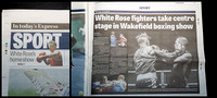 Wakefield Express - 28 November 2014 - White Rose fighters take centre stage in Wakefield boxing Show.