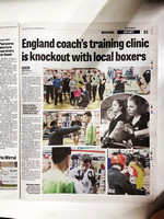 Wakefield Express - 25 January 20 - England coach's training clinic is knockout with local boxers