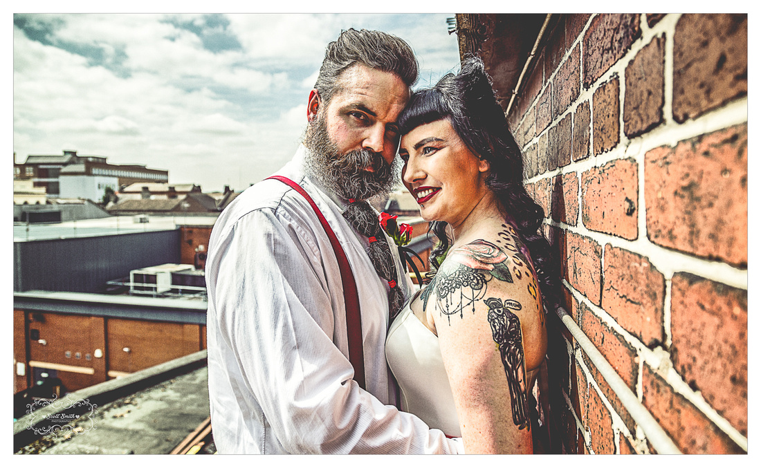 Scott Smith Photography - Rock and Roll Styled Shoot - Mecure Hotel Doncaster