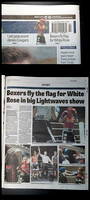 Wakefield Express - 22 April 2016 - Packed house celebrates many home wins in sensational White Rose show.